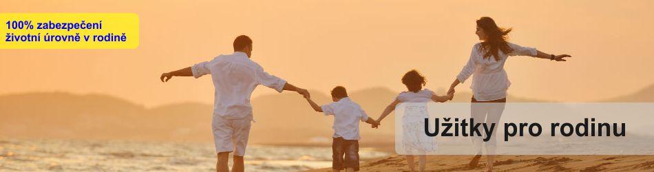 100% zabezpečení životní úrovně v rodině
